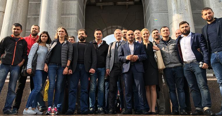 Громадські активісти та народні депутати оголосили мобілізацію на Всеукраїнську акцію за політичну реформу