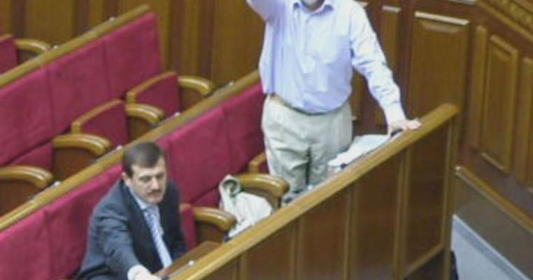 Депутат від НУНС порушив зобов'язання щодо особистого голосуванняння