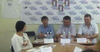 Три партії на Дніпропетровщині підписали угоди з рухом ЧЕСНО