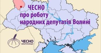 ЧЕСНО розкаже про роботу народних депутатів Волині