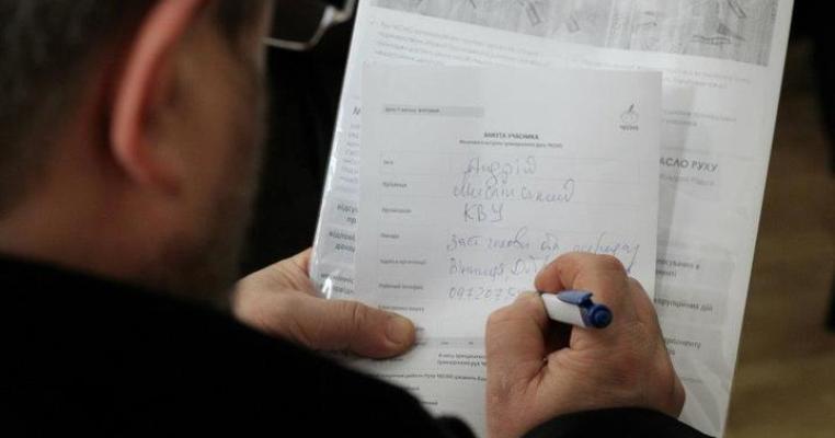 Вінничани хочуть очистити верховну раду від недостойних депутатів