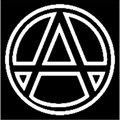 Логотип: СОЮЗ АНАРХІСТІВ УКРАЇНИ