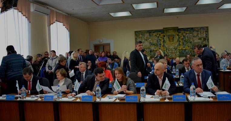 """Рівнерада 2016: """"Свобода"""", """"УКРОП"""" та """"Громадський контроль"""" в опозиції"""