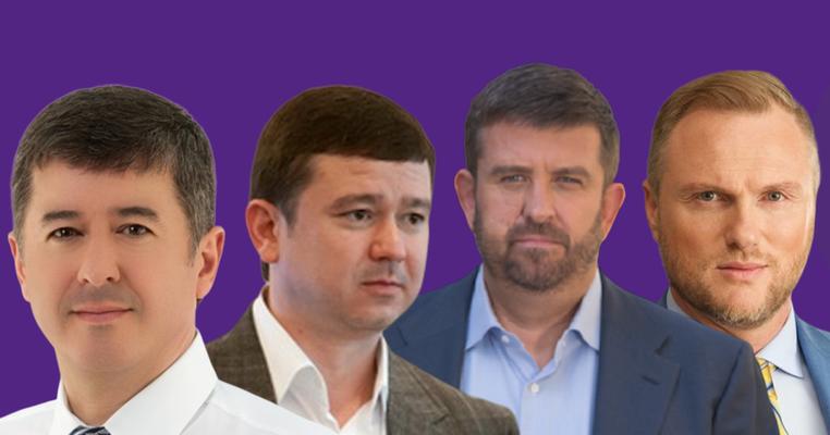 """Вибори-2019: чотири нардепи-мажоритарники """"мігрували"""" до інших округів"""