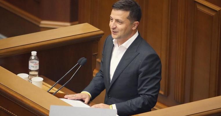 """Перше послання Зеленського: """"Не дай Боже, увійдете в історію як парламент, який проіснував найменше"""""""