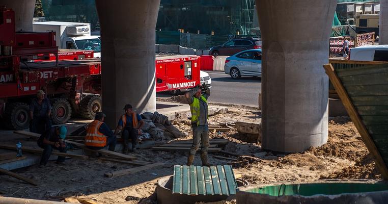 Транспортний колапс: чи зникнуть затори після ремонту Шулявського моста?