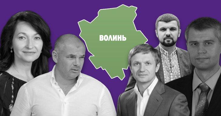 Фото: Нардепам Волині в поміч: донори виборчих кампаній та довірені особи
