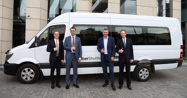 Чому Європа відмовляється від Uber Shuttle, який запустили в Києві?