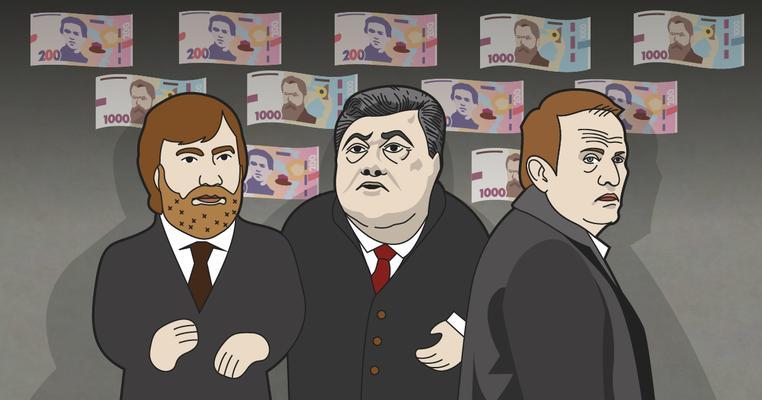 Скільки олігархи офіційно віддали на вибори та фінансування партій?