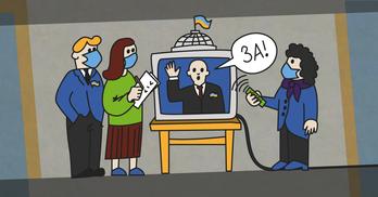 """Голосування через """"скайп"""": як парламенту пропонують працювати на карантині"""