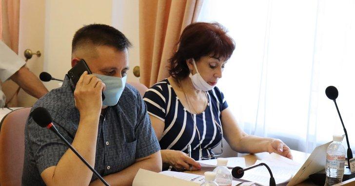 """Фото: Депутати від БПП у Полтаві """"відзвітували"""" про ініціативу для незрячих, якої не було"""