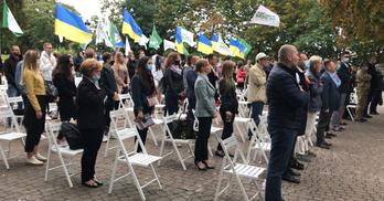 З Нацгвардією та під фонограму Петриненка: як партія Берези висувала його в мери Києва