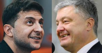 Зеленський та Порошенко показали, скільки витратили у другому турі