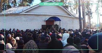 """Створення ОТГ: Чому мера Бучі в Клавдієво-Тарасове зустріли криками """"ганьба""""?"""
