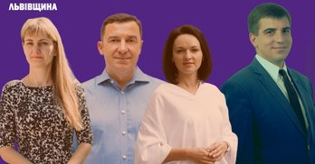 """Львівщина: хто переміг мажоритарників """"Слуги народу"""" та чинних нардепів"""