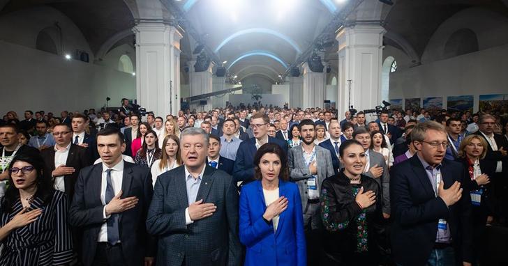 """Фото: """"Європейська солідарність"""": шлях від влади до опозиції"""