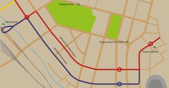 Швидкісний трамвай до Палацу спорту: чому його немає в проєкті Генплану та якої думки про нього кияни