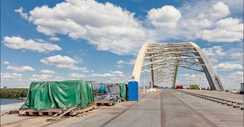 Поліція обшукує компанію, яка вивезла ванти з Подільсько-Воскресенського мосту