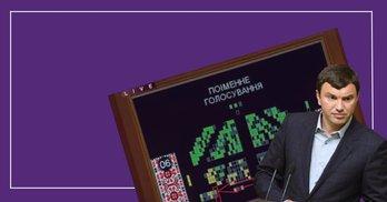 Кнопкодавство не зникло: Рух ЧЕСНО зафіксував неособисте голосування в парламенті
